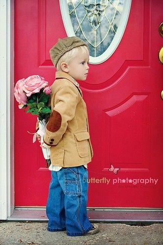 Little gentleman!