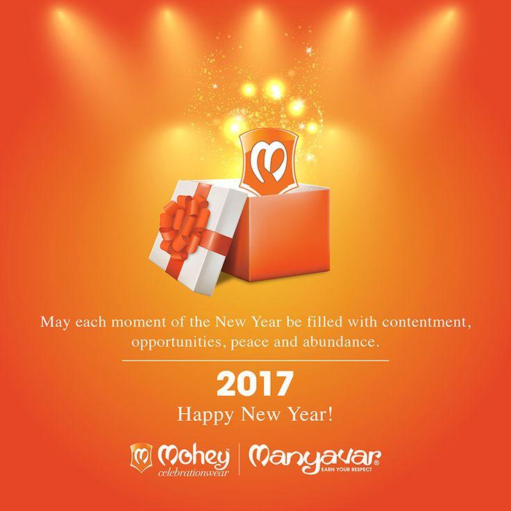 Wishing you and family timeless moments of joy in the new year - Mohey Manyavar Parivar. #HappyNewYear #2017