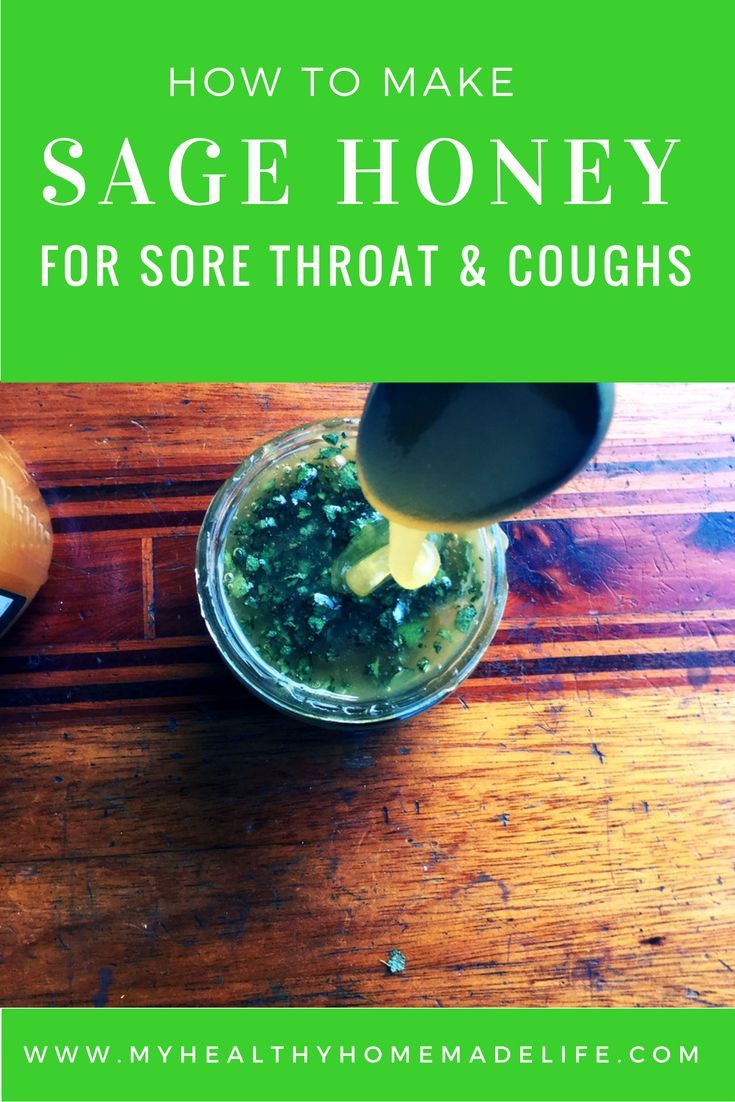 How to Make Medicinal Sage Honey for Sore Throat & Coughs | Herbal Remedies | Home Remedies | Herbs | DIY Medicine