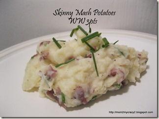Potatoes, Skinny and Mashed potatoes on Pinterest