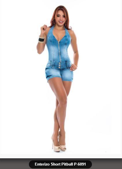 ff26d12e1c2 ...  orginaldesing  enterizo  short  corto  jean  chambray  vaquero   levantacola  ajusteperfecto  moda  foto  comprar  mujer  azul  clasico   pantalones