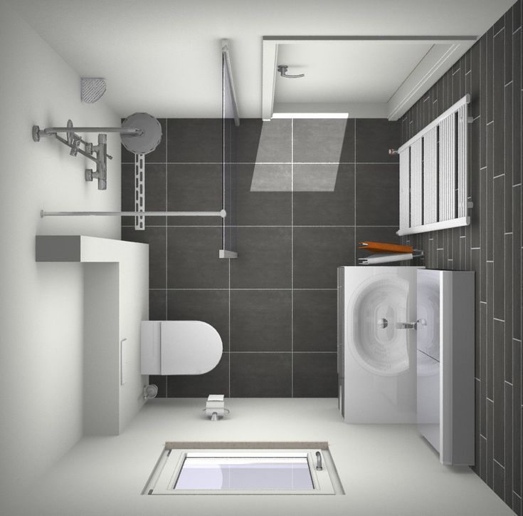 Design Small Bathroom In Common Dimensions 2 X 2 Meters Everything About Color Bathroom Color C Small Bathroom Bathroom Layout Bathroom Design Small