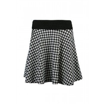 GUILTY Houndstooth Skater Skirt cause everyone's got a little Avril in them
