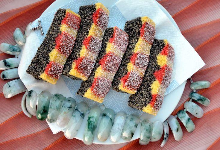 Inspirativní pečení: Makovec coby užovka korálovka