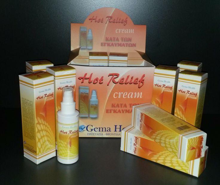 Η Hot Relief είναι φτιαγμένη από: συτατικά φυσικής προέλευσης, από προιόντα οργανικής καλλιέργειας, βαλσαμόχορτο, αλλαντοϊνη, χαμομήλι, aloe vera, zinc oxiden,κερί μέλισσας.