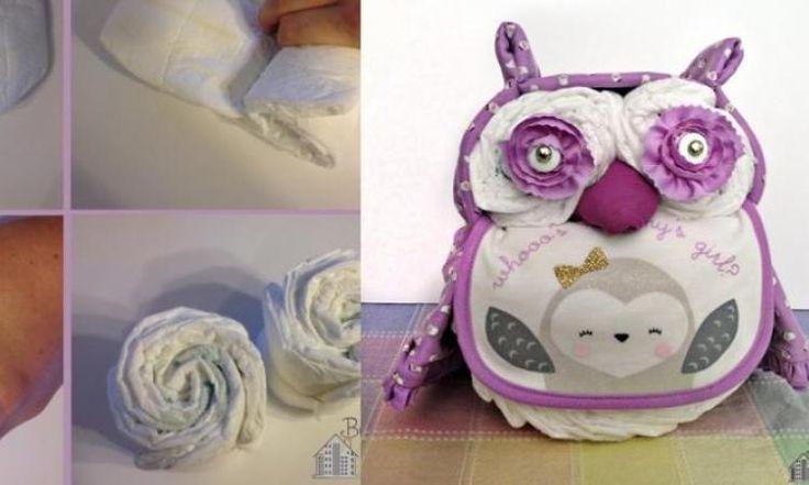 Apprenez à fabriquer un gâteau-couche hibou! C'est chouette comme cadeau!