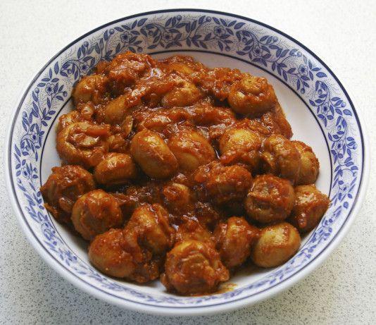 mushroom bhaji