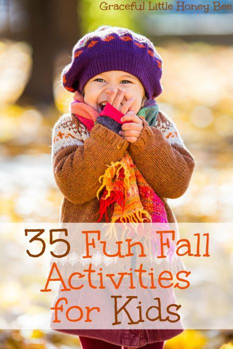 35 Fun Fall Activities for Kids + FREE PRINTABLE
