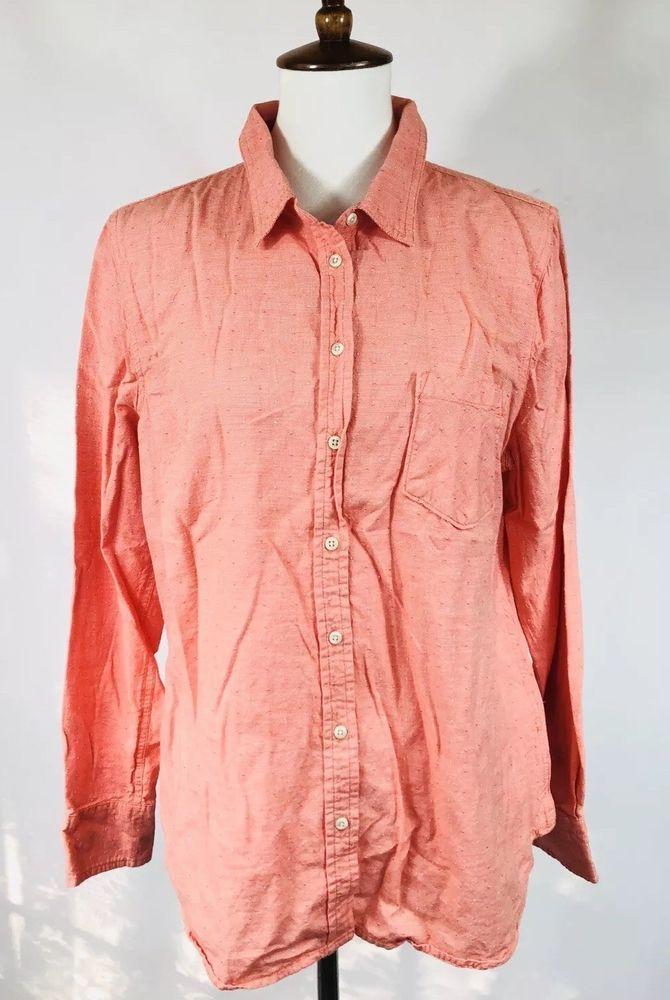 22a68c13ae8 Merona Womens Plus Size XXL Tan Collared Long Sleeve Button Up Blouse Shirt   fashion