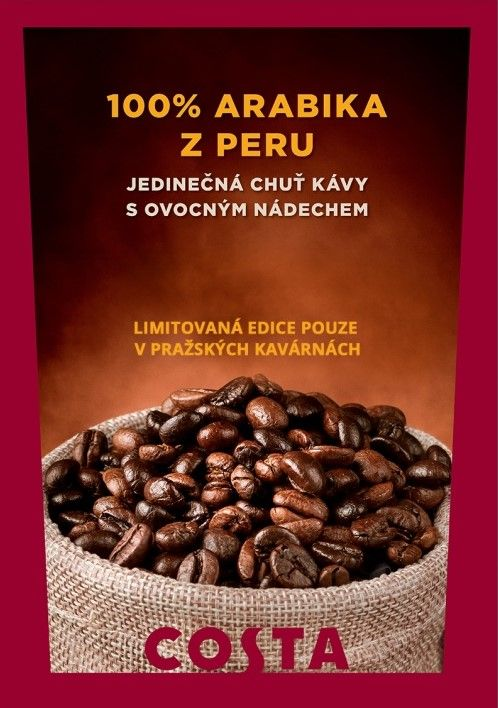 Jaro 2018 - 100% arabika z Peru