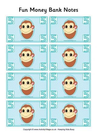 Fun Money Banknotes 5