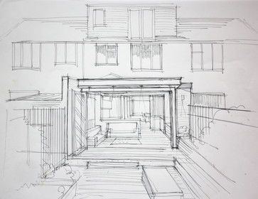 Architecture Houses Drawings 137 best architectural drawings and sketches images on pinterest