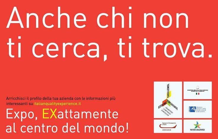 Fai parte delle oltre 700.000 imprese dell'agroalimentare italiano? Registrati su www.italianqualityexperience.it e inserisci tutte le informazioni sulla tua impresa e i tuoi prodotti!