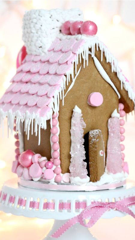Gingerbread House Royal Icing  {How-To Video}