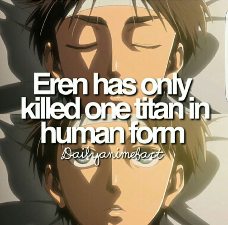 Wow Eren you are a disappointment... except for the fact that you are a sexy Titan beast