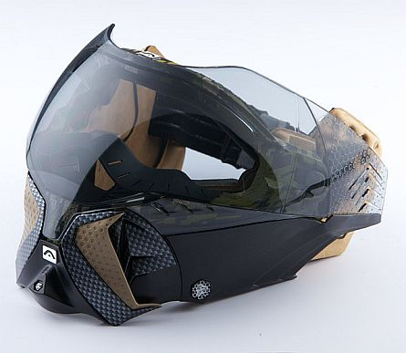 Angel Eye Goggles are New goggle made by Angel Paintball Sports. Angel Eye Goggles have new paintball goggle system with amazing looks and really amazing futuristic design. Angel Paintball Sports did a really great job by creating really most amazing looking and easy to maintain goggles