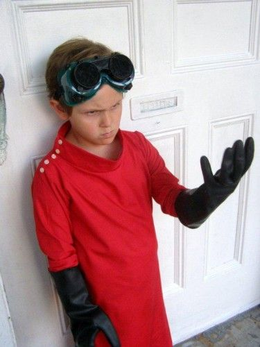custom evil dr horrible lab coat kids size halloween costume - Dr Horrible Halloween Costume