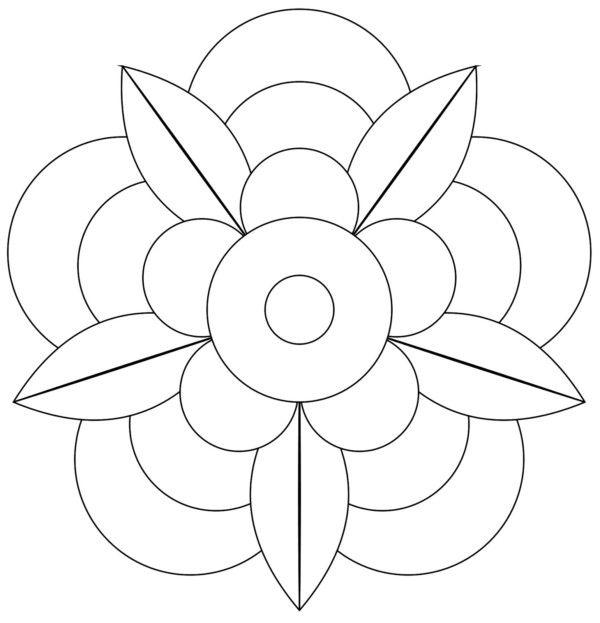190 Mandalas Para Colorear Para Niños Mandalas Mandala