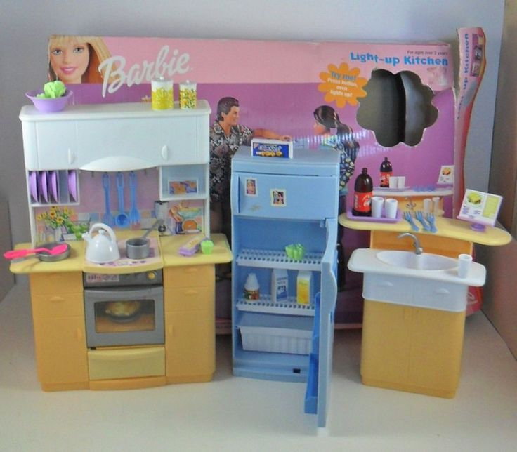 Barbie Glam Kitchen Set: 17 Best Images About Toys On Pinterest