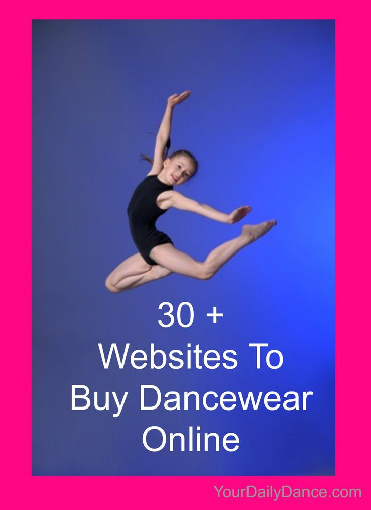 Dancewear websites...