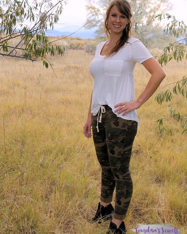 """82 Likes, 5 Comments - Affordable Women's Clothing (@jourdansjewels) on Instagram: """"On Wednesday, I released these camo jeggings for the first time on my website and they're already…"""""""