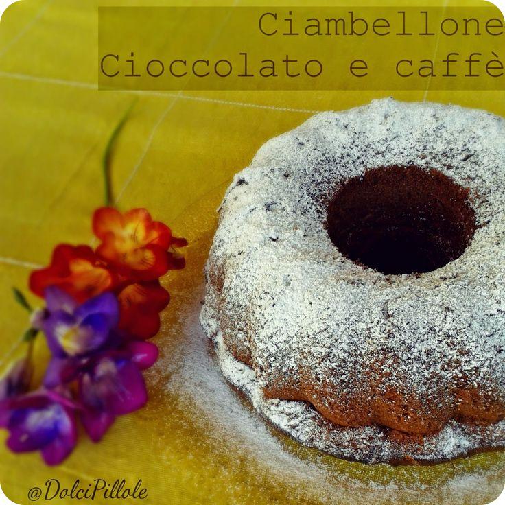 #Ciambellone #cioccolato e #caffè. #breakfast #dolcipilloleperilpalato
