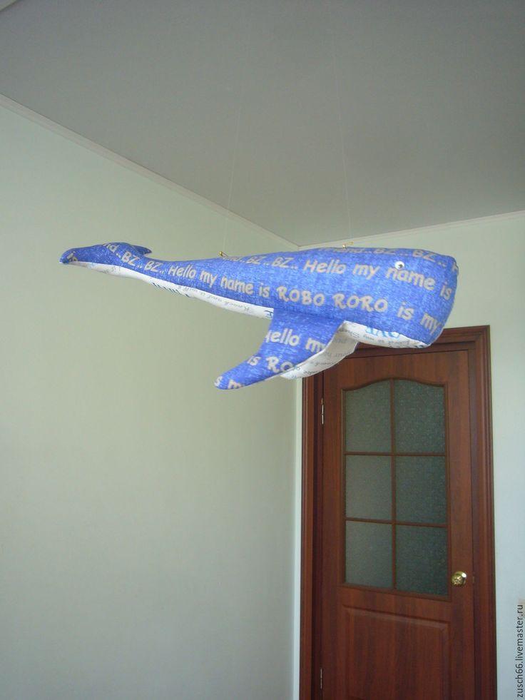Купить Синий кит Гоша - синий, кит, синий кит, подарок на день рождения, млекопитающее