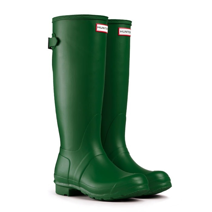 Original Back Adjustable - Green | Hunter Boot  Just ordered these! Can't wait!!