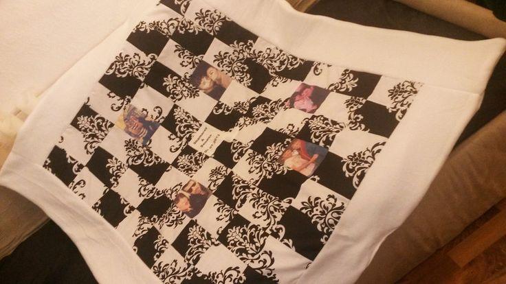 Quilts & Patchwork - individuelle Fotodecke - ein Designerstück von…