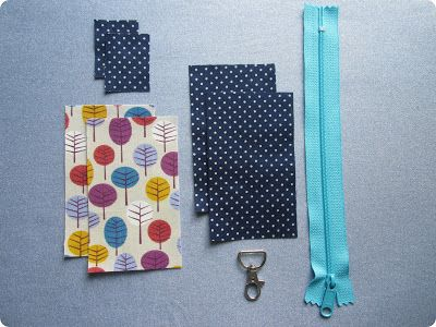 monkey makes three: Tutorial: Keyring Pouch