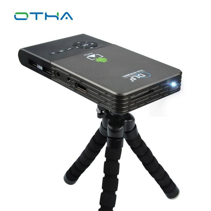 Mini Projector Wifi Smart DLP Projector Full HD Proyector Built in 5000mAh Battery Bluetooth Projector HDMI/USB Theater Projetor #Affiliate
