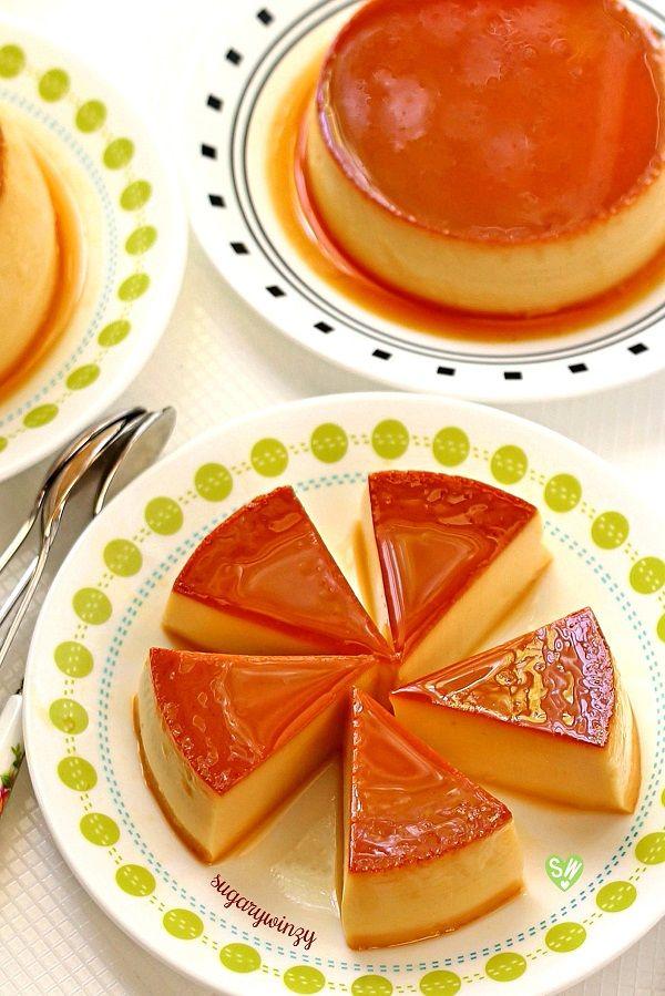 SugaryWinzy Easy Silky Creme Caramel aka Leche Flan or Caramel Custard
