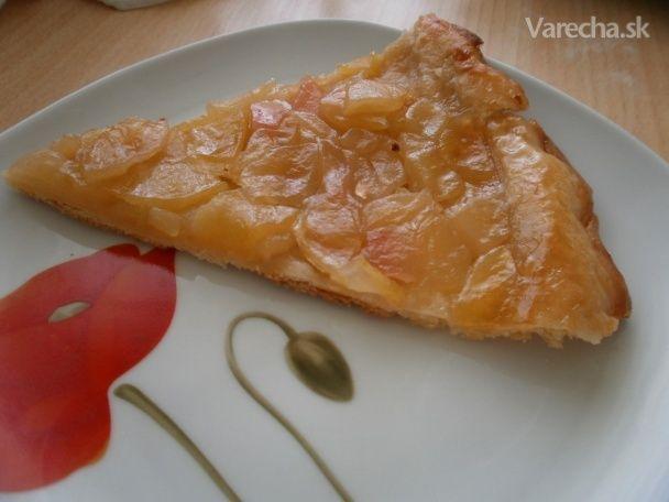 Jablkový obrátený koláč (tarte tatin) - Recept
