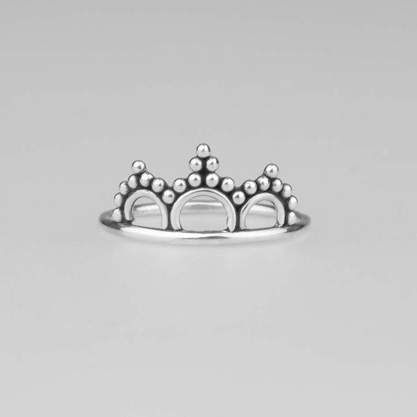 LAUREL. Crown Midi Ring – REGALROSE