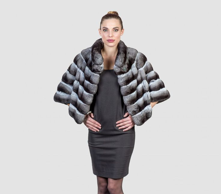 #chinchilla #real #fur #coat #jacket #style #fashion #classy #clothing #top #best #bollero #collar #elegant #beauty #face #lips #blonde #body #goddes