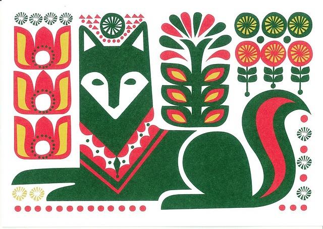 Marimekko Design Sanna Annukka - Greeting card 3