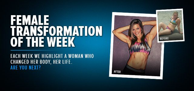 BodyBuilding.com Writer: Female Transformation Of The Week - How Much Have You Changed?