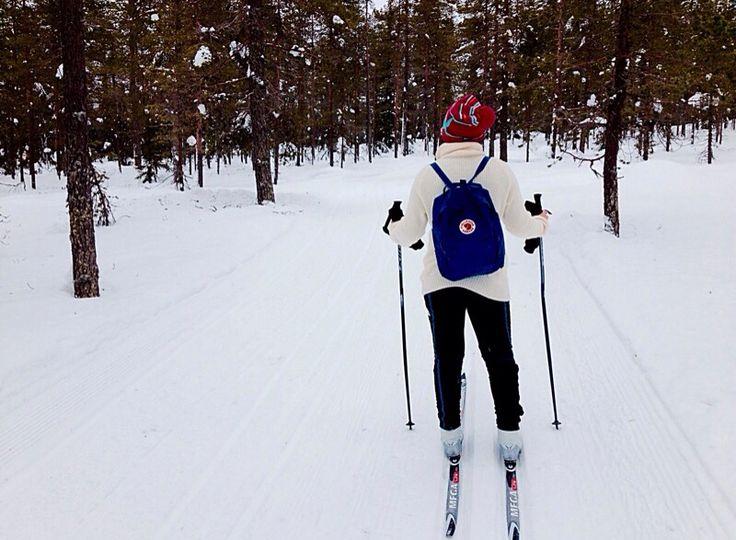 Ski trip, Sweeden
