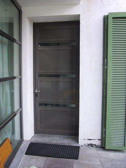 Porta blindata moderna - Fratelli Brivio #door