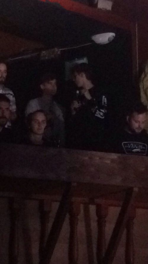 Troye Sivan and Connor Franta . tronnor at a show