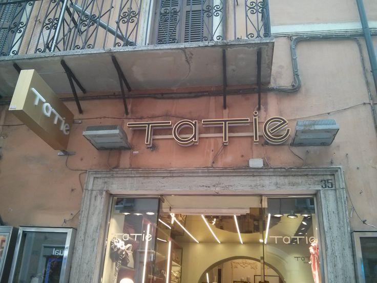 Tatie, tienda de ropa y complementos. Roma.