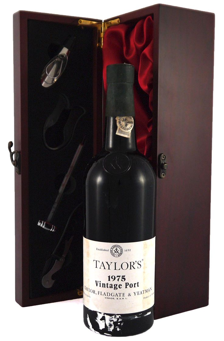 1975 Taylor's Fladgate #Vintage #Port. It is richly fruity, supple, and offers delicious drinking.   http://www.vintageportgifts.co.uk/acatalog/Taylor_Fladgate_Vintage_Port.html