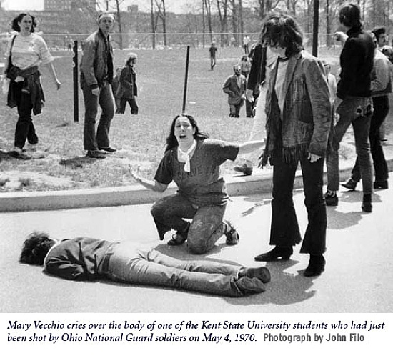 kent state. One of the most iconic photos of my youth