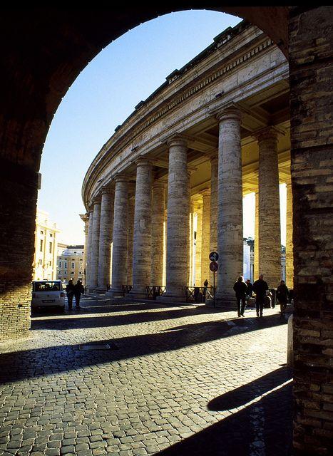 Gateway - Vatican Portico, Rome, Italy   #Italia #Roma #Rome