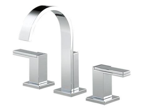 BRIZO - Siderna Widespread Lavatory Faucet - Less Handles : 65380LF-PCLHP HL5380-PC : Siderna : bath : Brizo