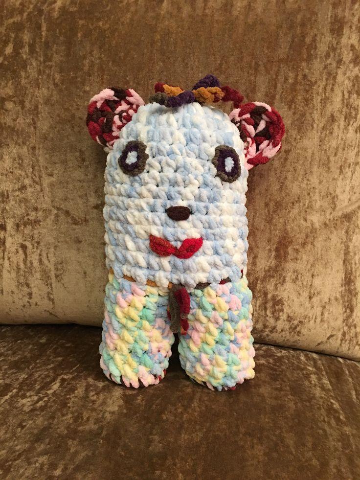 Bípedo crochet