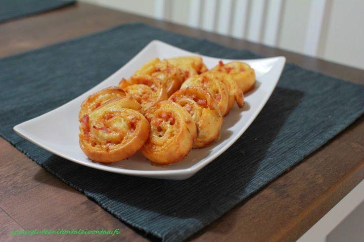 Gluteenitonta leivontaa: Suolaiset leivonnaiset