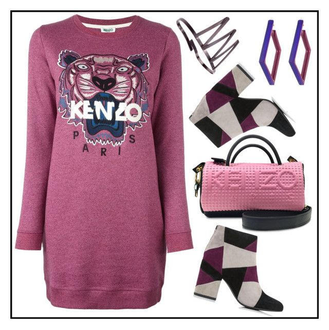 Walk with Kenzo by amisha73 on Polyvore featuring moda, Kenzo, Senso and Alexis Bittar