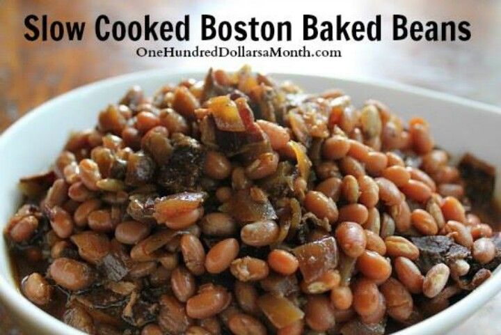 Boston baked beans | Eat Real Food | Pinterest