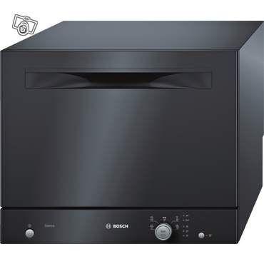 Petit lave vaisselle noir Bosch 6 couverts 170€